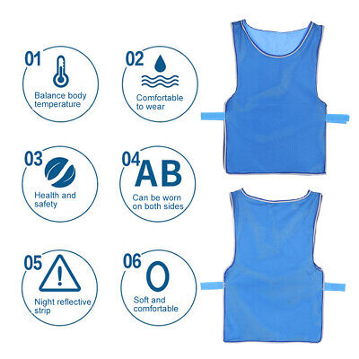 Outdoor Ice Cooling Vest Sunstroke High temperature Prevention Clothes Summer