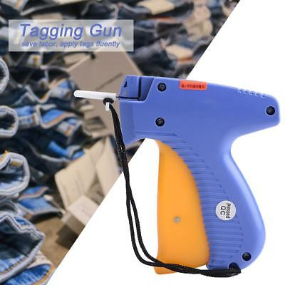 Blue Price Label Tagging Tag Gun For Clothes Garment Shop Commercial Tagger Tool