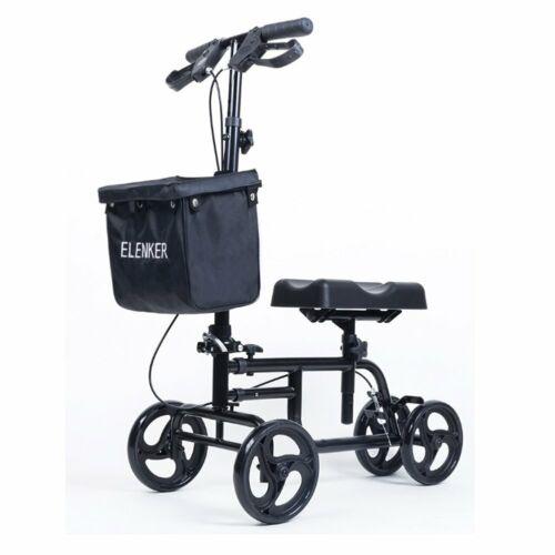 OEM ELENKER Steerable Knee Walker Medical Scooter Leg Scoote