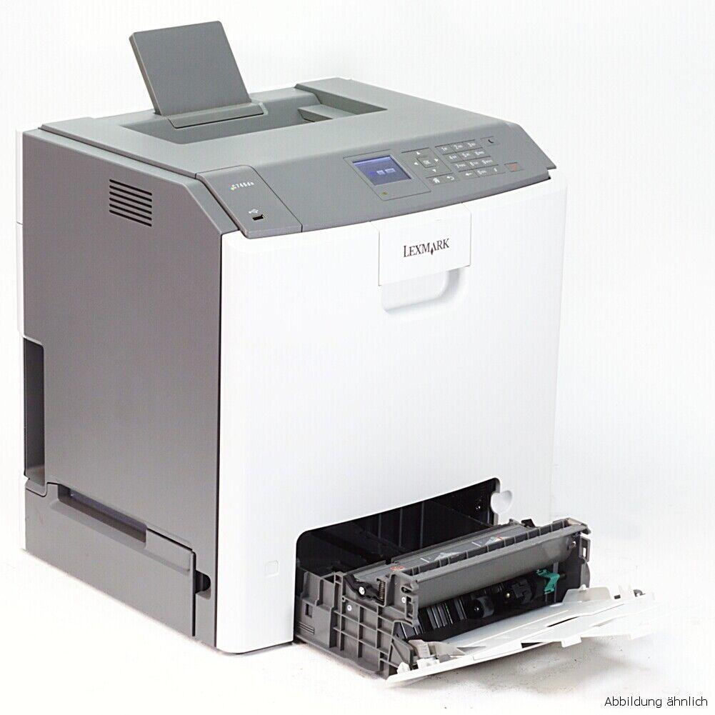 Lexmark imprimante c746dn laser couleur réseau duplex sous 50.000 pages