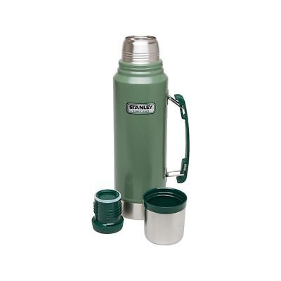 Orig. Stanley Classic Vakuum Flasche 1l Edelstahl Thermoskanne Hammerschlaglack