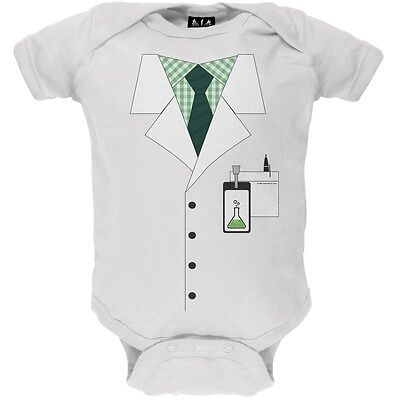 Scientist Costume Newborn Infant One - Baby Scientist Costume