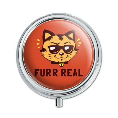 Furr Real Cat For Funny Humor Pill Case Trinket Gift Box