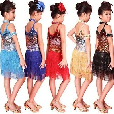 Kids Charleston Flapper Charleston Tassel Vintage 20S Moulin Rouge - Kids Flapper Dresses