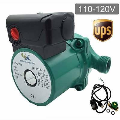 110-120v Automatic Circulator Pump G 34 Household Hot Water Circulation Pump