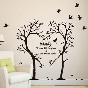 Family Tree Wall Sticker Ebay
