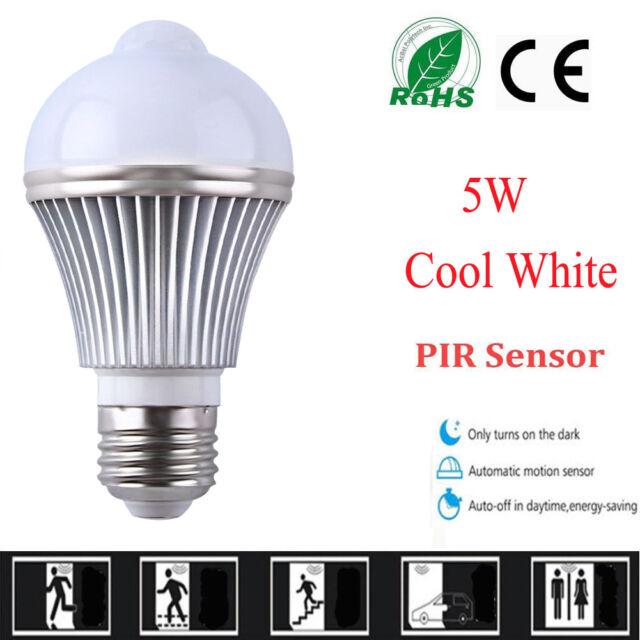 E27 pir motion detector sensor auto onoff led bulb smart light lamp e27 pir motion detector sensor auto onoff led bulb smart light lamp 5w outdoor aloadofball Images