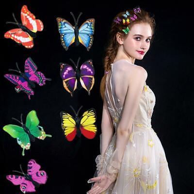 5x Frauen Schmetterling Haarspangen Pins Braut Hochzeit Dekoratives - Schmetterling Kostüme Frauen