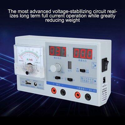 Regulated Digital Power Supply Adjustable Repair 100-240v Us Plug Dual Display S