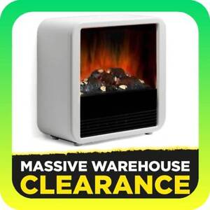 Dimplex Cube 2kW Portable Electric Fire with Optiflame (WHITE) Tullamarine Hume Area Preview