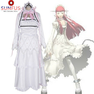 Halloween Persona 3 Chidori Yoshino Dress P3 Girls Party Game Cosplay Costume