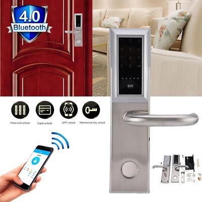 Digital Deadbolt Touch Password Keyless Bluetooth Door Lock Remote Home Security