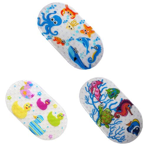 Kids Child Ocean Animal Print PVC Bath Shower Mat Bathtub Ma