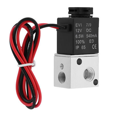 3 Way 2 Position 18 Bsp Normally Closed Pneumatic Solenoid Air Valve Dc 12v