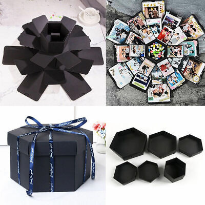 Surprise Explosion Box Creative Birthday Gifts Photo Album Memory Scrapbook DIY (Scrap Book)