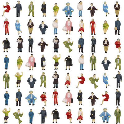 P8717 72Pcs Ho Scale 1 87 Seated And Standing People Figures Passengers New