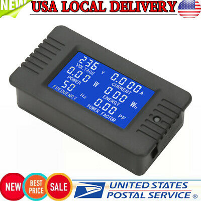 Pzem-022 Ac Digital Meter Power Energy Voltage Current Kwh Test Close Ct 100a Us