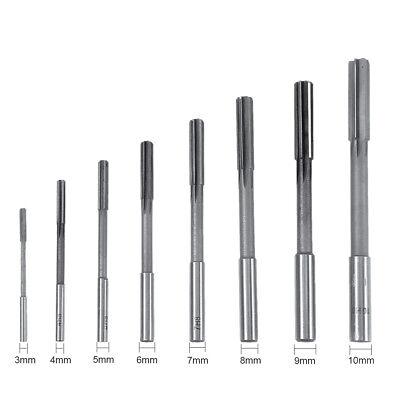 3-10mm Hss Straight Shank Parallel Flute Engineering Pipe Drill Hand Reamer Set