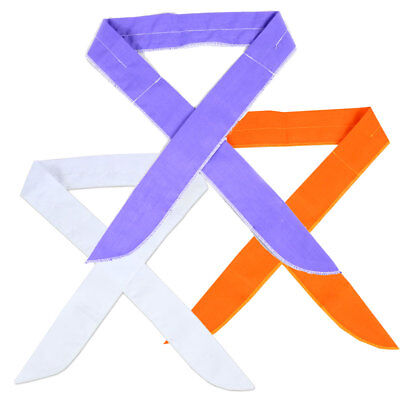 (3 x Neck Cooler Scarf Body Ice Cool Cooling Wrap Necktie Headband Bandana US)