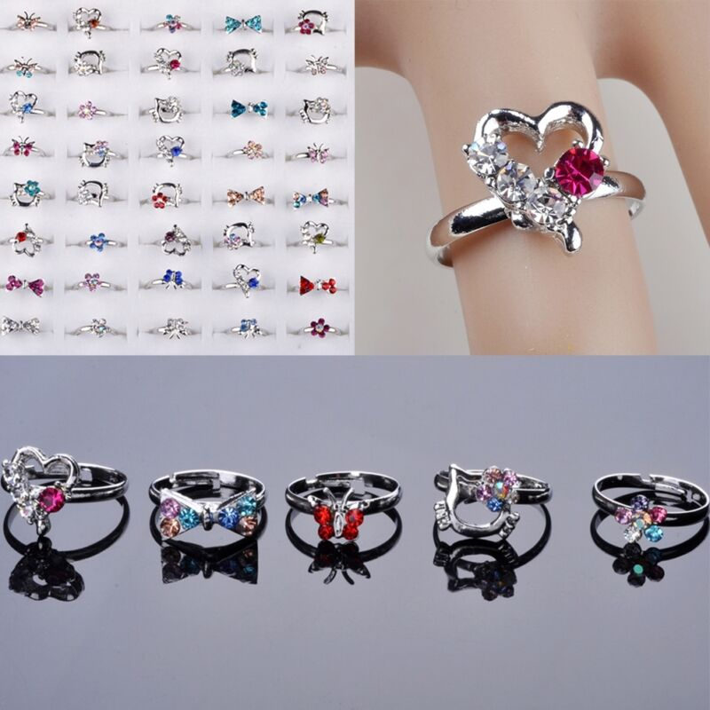 5-100pcs wholesale lots cz cry... Image 1