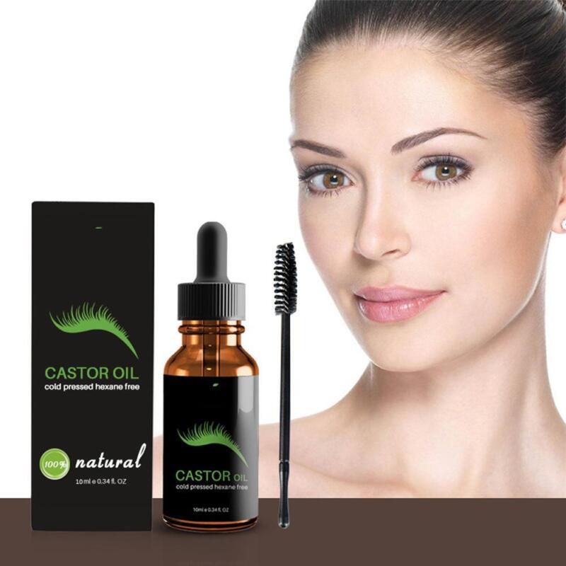 Organic Castor Oil for Eyelash Eyebrow Growth Enhancer Vitam