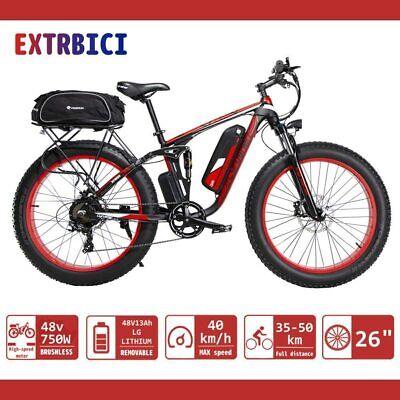 Bicicleta de montaña eléctrica Extrici® XF800 1000W 48V