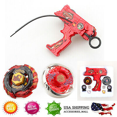 Beyblade Set Fusion Top Metal Rapidity Masters Launcher Grip Kids Toys Xmas Gift
