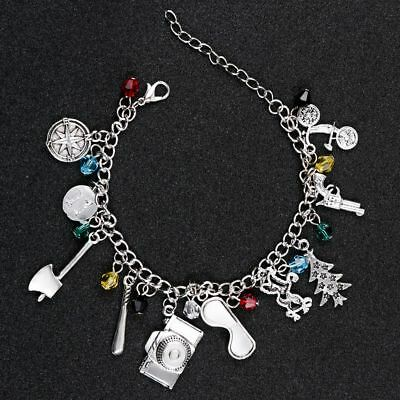 Stranger Things Theme Charm Bracelet Funny Beautiful Jewelry Gift Girl Sister - Girls Charm Bracelet
