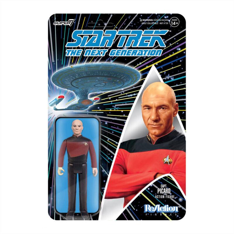Star Trek: The Next Generation ReAction Figure Captain Picard