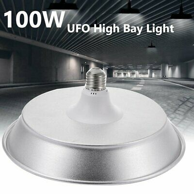 Super Bright Warehouse Led 100w Watt Ufo High Bay Lights Supermarkets Lamp E27