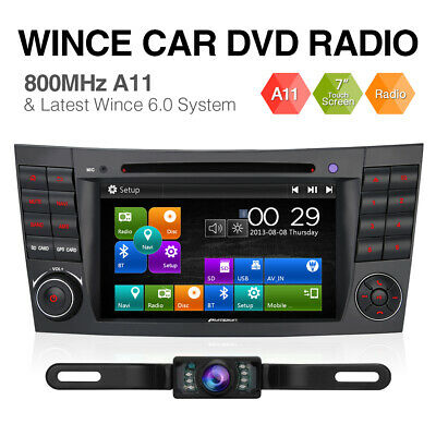 "Pumpkin 7"" Autoradio DVD GPS Navigation SWC für Mercedes-Benz E Klasse W211 W219"