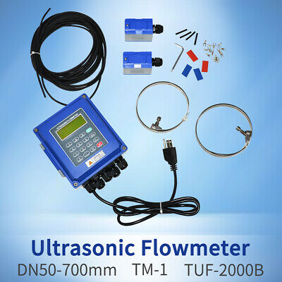 Portable Ultrasonic Flow Meter Ultrasonic Flowmeter Fluid Flow Test Dn50dn700mm