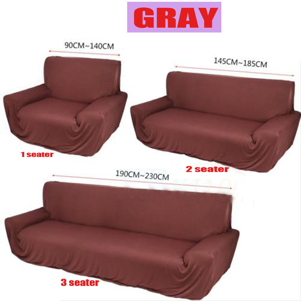 1 2 3 4 Seater Sofa Cover Stretch Couch Lounge Protector