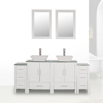 Double Sink Vanity Top (72