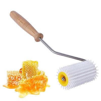 Bee Honey Extracting Uncapping Needle Roller Plastic Beekeeping Comb Equipment