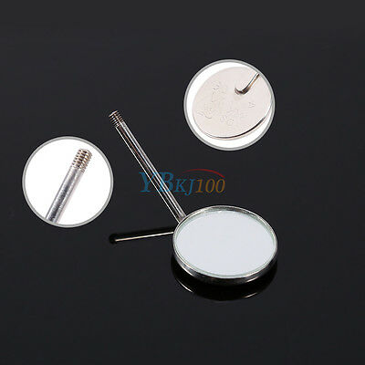 50 Pcs Dental Orthodontic Stainless Steel Mouth Mirrors Plain Mirror Im
