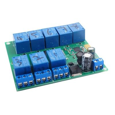 Diymall 8 Channel Relay Module Bluetooth 4.0 Ble For Android Apple Phone Iot