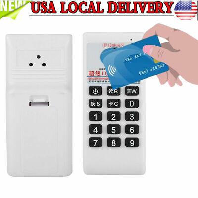 Handheld Rfid Id Card Reader Writer 125khz Copier Duplicator 125khz 500khz