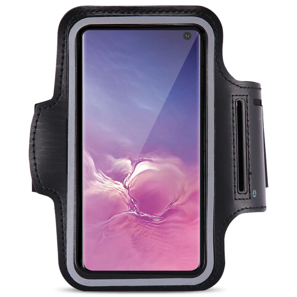 Samsung Galaxy S10 Jogging Tasche Handy Hülle Sport Lauf Armband Fitnesstasche