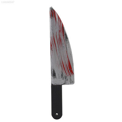 E92A - Blutige Halloween - Messer Prop Kostüm Cleaver Sichel Party Waffen