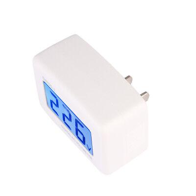 Mini Lcd Electronic Digital Voltmeter Voltage Meter Plug In Us Plug Household
