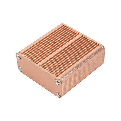 Aluminum Pcb Instrument Box Enclosure Electronic Project Case Diy-45x45x19mm Dh