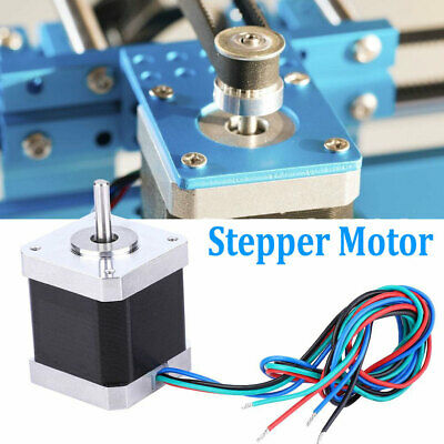 Nema 17 Stepper Motor Control 2 Phase 46ncm 1.8 2a 48mm 4-wire 12v-24v Us Stock