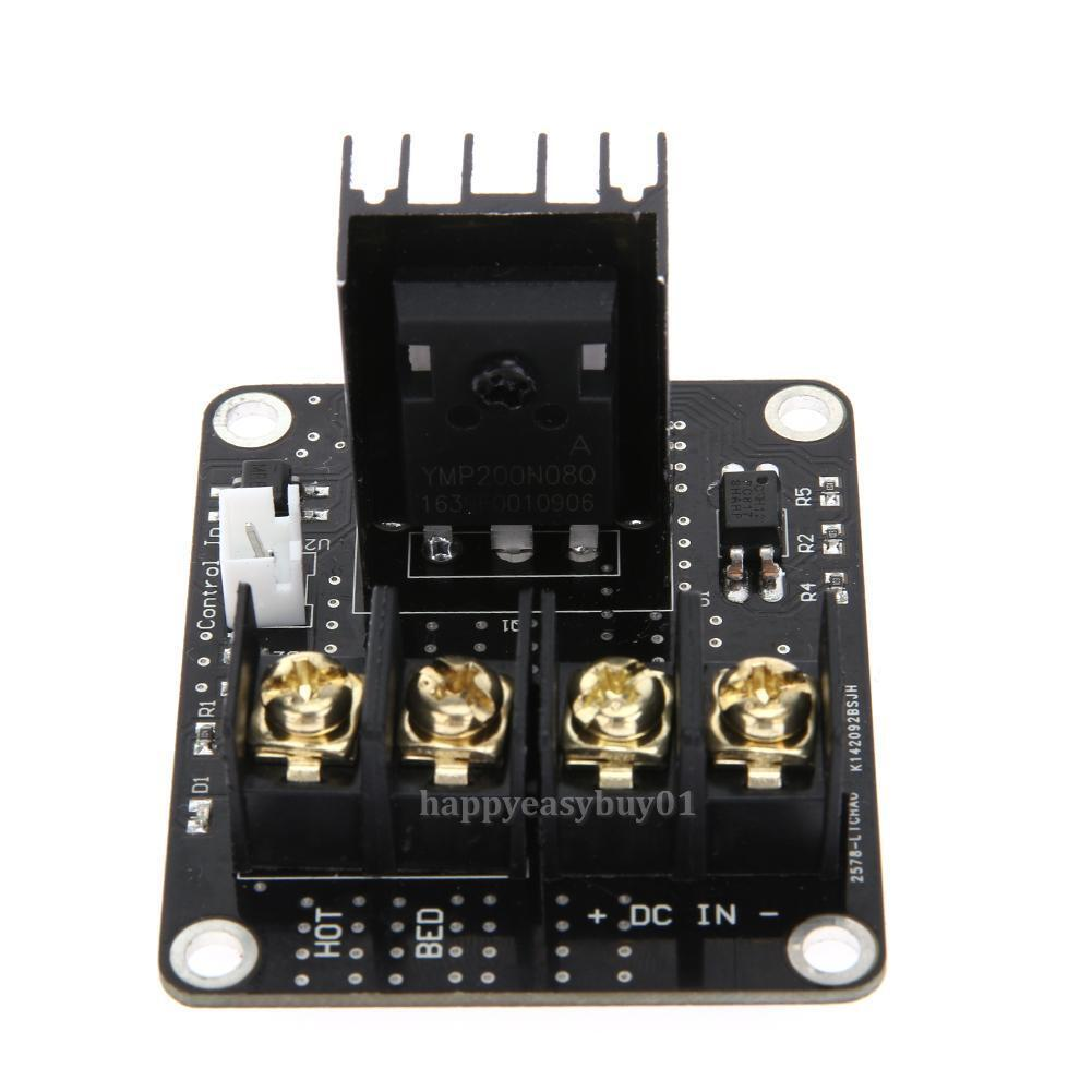 210A MOSFET 3D Printer Heated Bed Module Power Upgrade  Board High Current RAMPS
