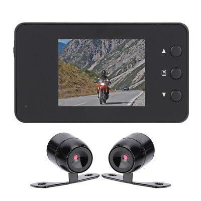 "Motorcycle Bike Car 3"" LCD Action Dual Camera Dash Cam Video Camcorder Recorder"