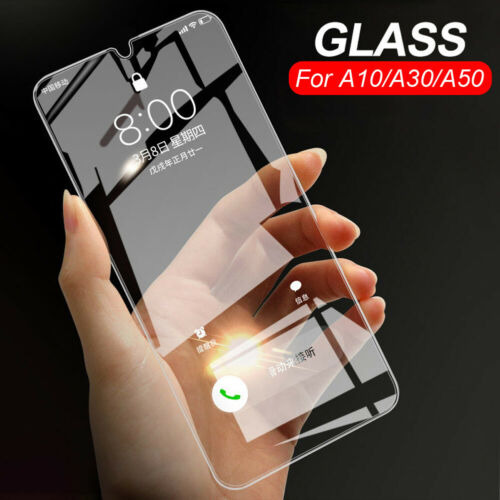 For Samsung Galaxy A30 A50 Real Tempered Glass Protective Film Screen Protector Cell Phone Accessories