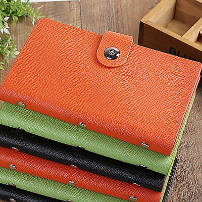 Leather 240300 Slots Businessidcredit Card Holder Organizer Magnetic Closure
