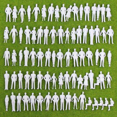 P50BDE Neu 100 × Figuren nicht lackiert Spur 0 35mm