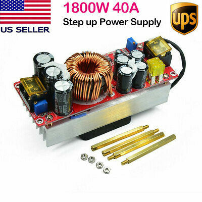 Dc-dc 1800w 40a Boost Converter Step Up Power Supply Module Constant Current Us