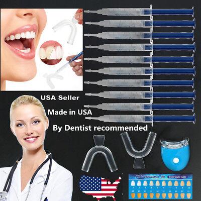 Dental Teeth Whitening kit 44% Carbamide Peroxide Bleaching System Oral Gel -